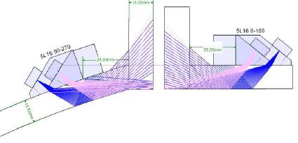 超声相控阵检测管座角焊缝