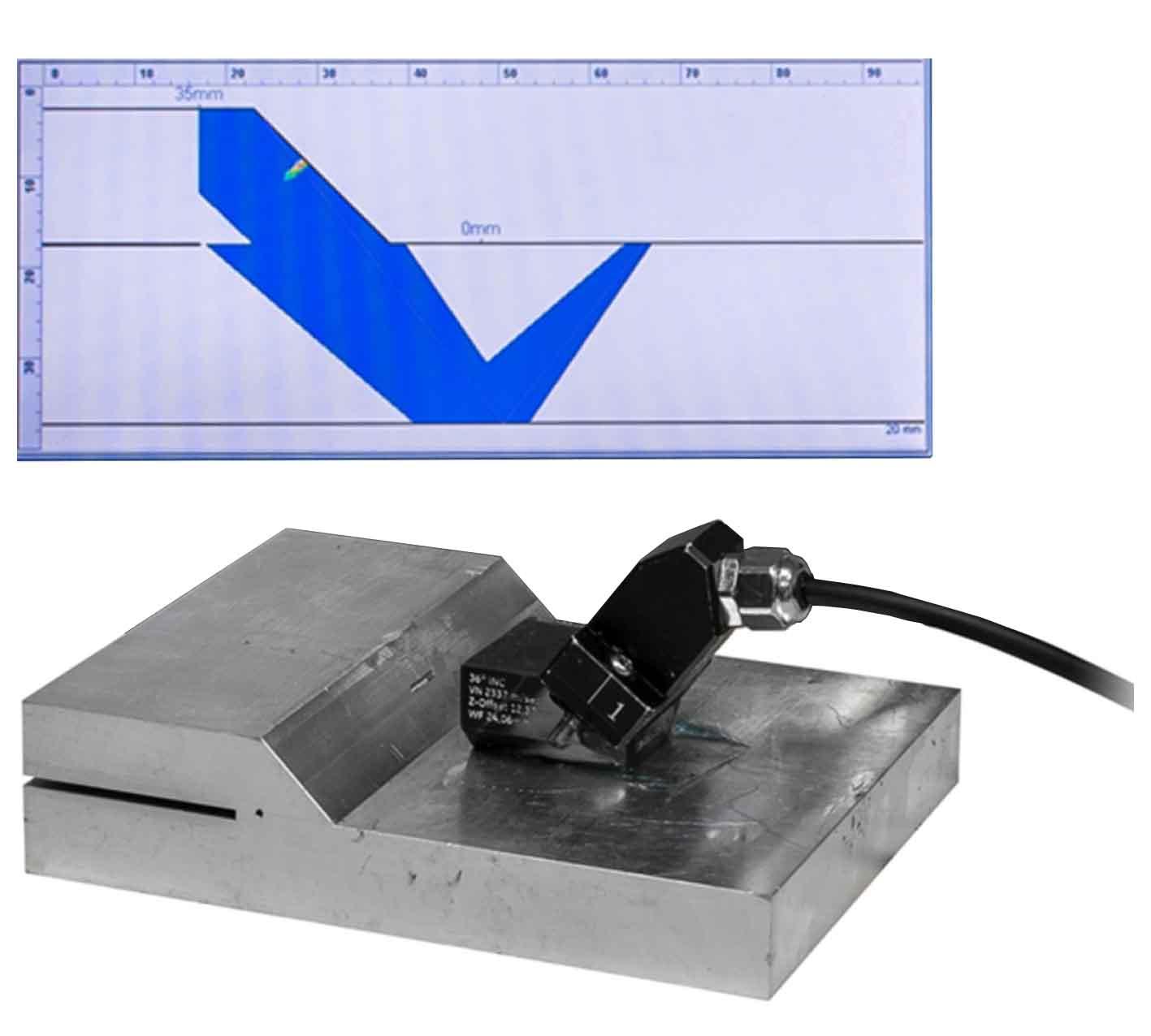 搭接焊超声检测-相控阵探伤